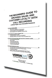 The Beginners Guide To Growing Sales with Call Recording Part 2
