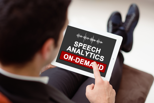 On-Demand Speech Analytics – Reduce the Cost of Entry to Speech Analytics Technology